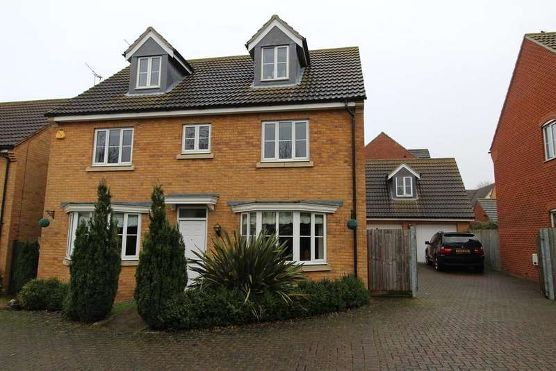 5 Bedrooms Detached House for sale in Daltons Shaw, Orsett, Essex, RM16