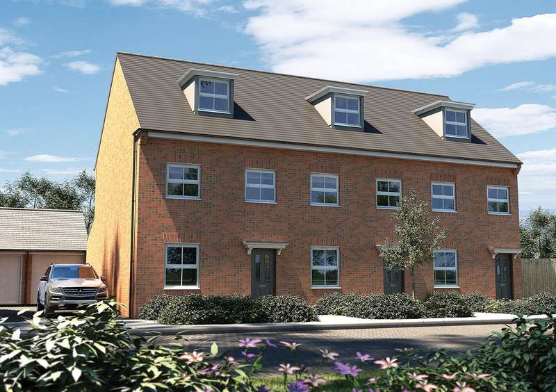 3 Bedrooms Semi Detached House for sale in Abbey Lane, Ampthill Chase, Ampthill, MK45