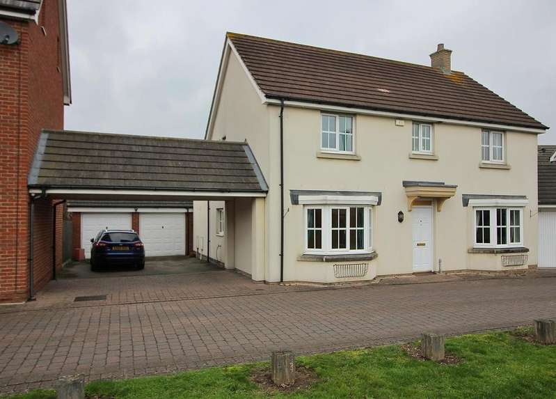 4 Bedrooms Link Detached House for sale in Baden Powell Close, Great Baddow, Chelmsford, Essex, CM2