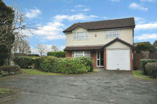 4 Bedrooms Detached House for sale in Hurricane Way, Woodley, Reading,