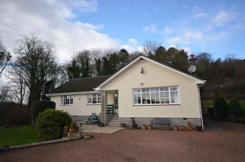 4 Bedrooms Detached Bungalow for sale in Treeview Skeldon, Hollybush, KA6 7EB