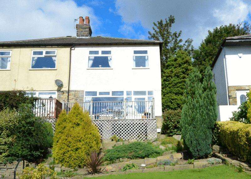 3 Bedrooms Semi Detached House for sale in Fenny Royd, Halifax