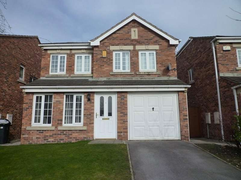 4 Bedrooms Detached House for sale in Castle Lodge Mews, Rothwell