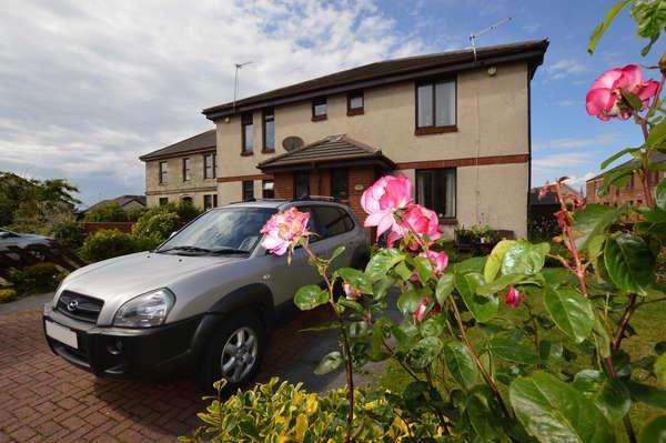2 Bedrooms Terraced House for sale in 19 West Park Court, Stevenston, KA20 3JU