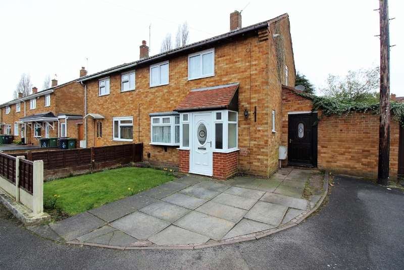 3 Bedrooms Semi Detached House for sale in Rugeley Avenue, New Invention