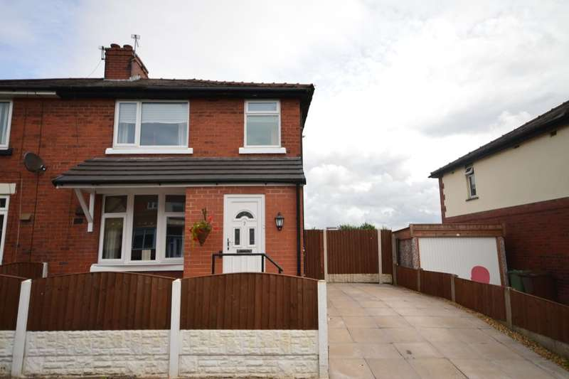 3 Bedrooms Semi Detached House for sale in Laburnum Avenue, Ince, Wigan, WN3