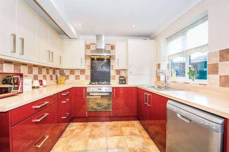 3 Bedrooms Link Detached House for sale in Runcorn Close, St. Mellons, CARDIFF