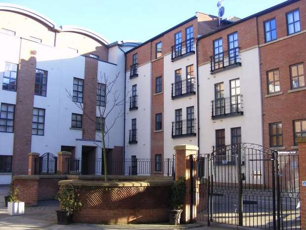 2 Bedrooms Flat for sale in Curzon Place, Bottle Bank, GATESHEAD, Tyne and Wear