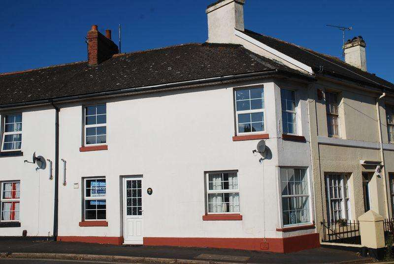 2 Bedrooms End Of Terrace House for sale in Water Lane, Newton Abbot