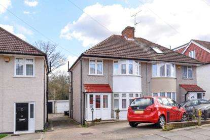 3 Bedrooms Semi Detached House for sale in Oakdene Avenue, Chislehurst