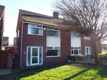 3 Bedrooms Semi Detached House for sale in Starling Drive, Farnworth, Bolton, Greater Manchester, BL4
