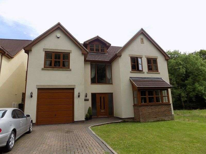 5 Bedrooms Detached House for sale in Tan y Coed, Varteg Row, Bryn, Port Talbot, Neath Port Talbot. SA13 2RF