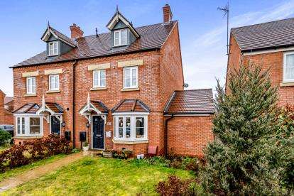 4 Bedrooms Semi Detached House for sale in Kestrel Way, Leighton Buzzard, Bedford, Bedfordshire