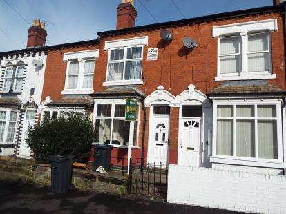 3 Bedrooms Terraced House for sale in Ashbourne Road, Birmingham, West Midlands