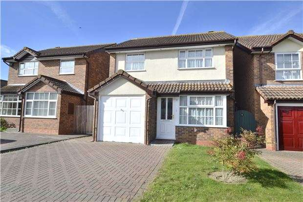3 Bedrooms Detached House for sale in Shackleton Close, Churchdown, GLOUCESTER, GL3 2TW