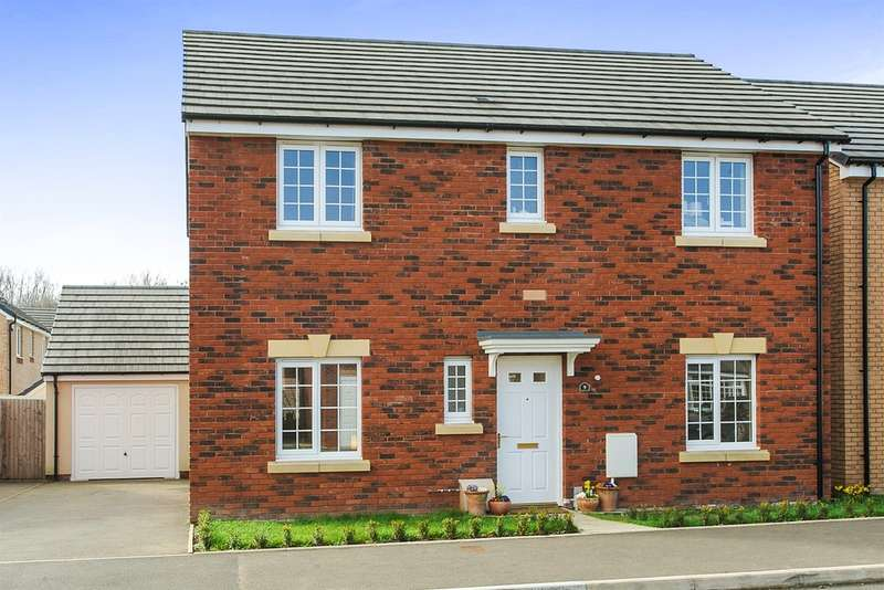 4 Bedrooms Detached House for sale in Kemble Road, Monmouth
