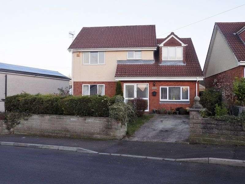 4 Bedrooms Detached House for sale in Crown Road, Kenfig Hill, Bridgend, CF33 6EN