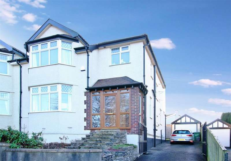 3 Bedrooms Semi Detached House for sale in Dingle Road, Stoke Bishop, Bristol