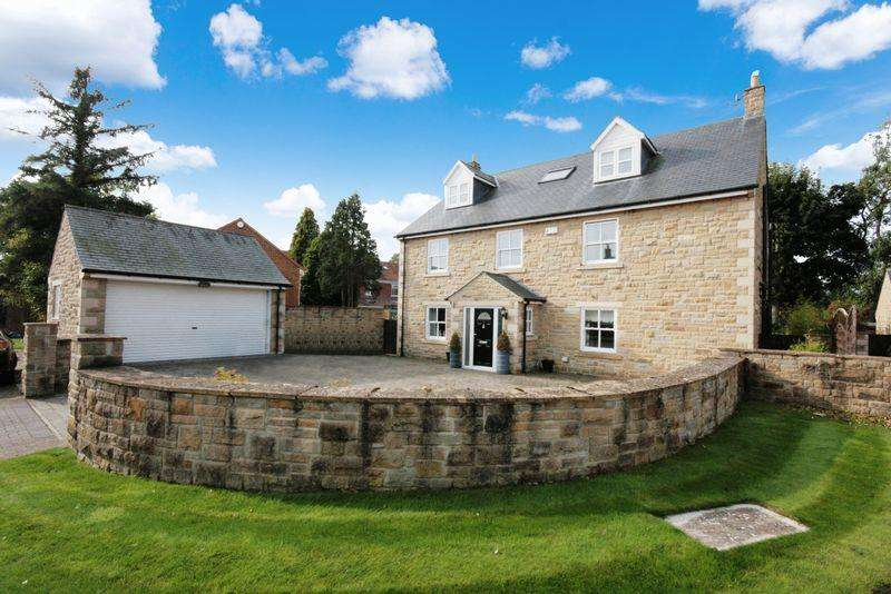 6 Bedrooms Detached House for sale in The Nursery, Medburn, Newcastle upon Tyne