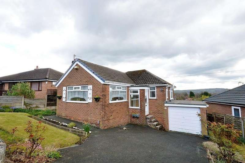 2 Bedrooms Detached Bungalow for sale in High Meadows, Romiley, Cheshire