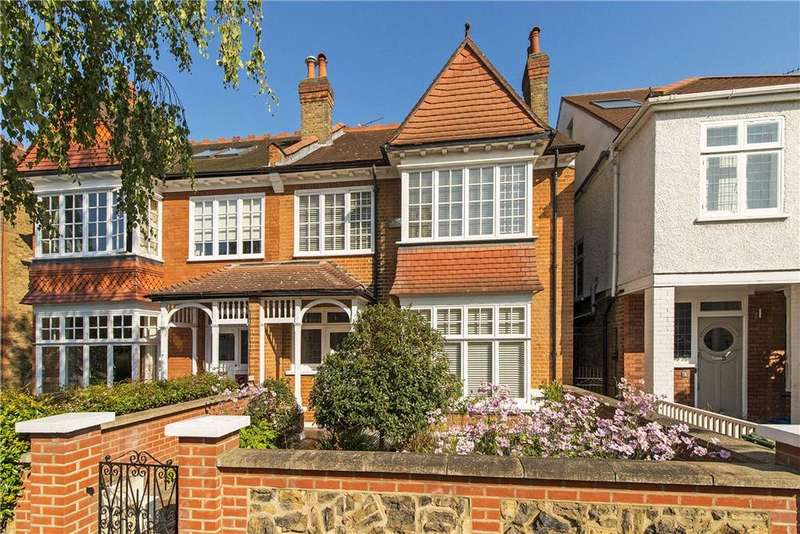 5 Bedrooms Semi Detached House for sale in Gerard Road, Barnes, London, SW13