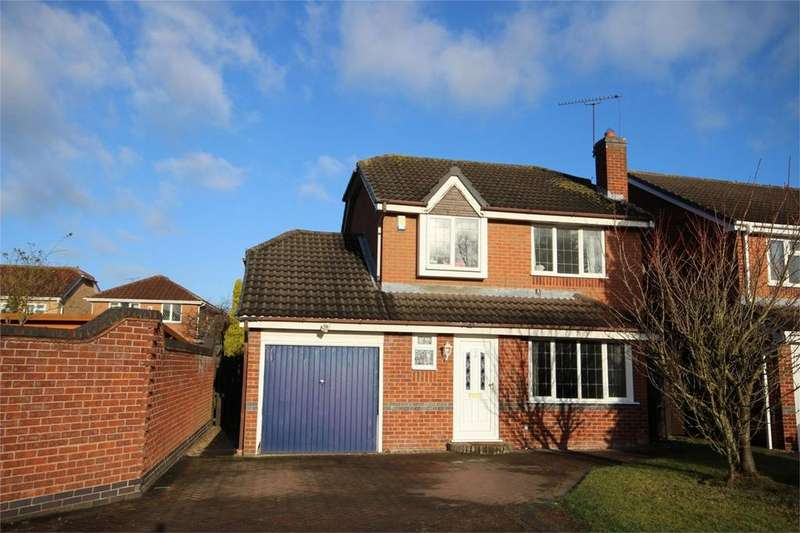 3 Bedrooms Detached House for sale in Launceston Drive, Horeston Grange, NUNEATON, Warwickshire