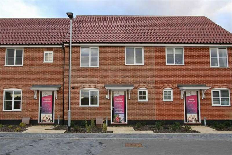 3 Bedrooms Terraced House for sale in Saddlers Rise, Thetford Road, Watton, Norfolk