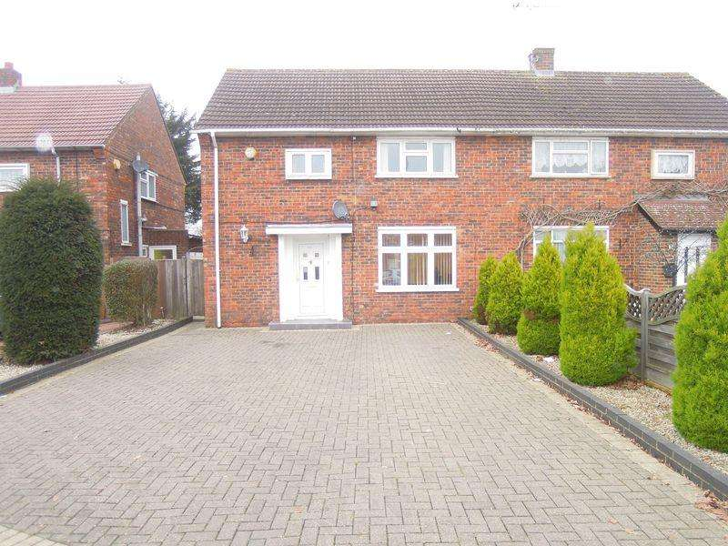 3 Bedrooms Semi Detached House for sale in Trelawney Avenue, Langley