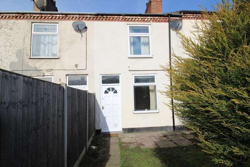 2 Bedrooms Terraced House for sale in 3 Cambria Terrace, Worksop