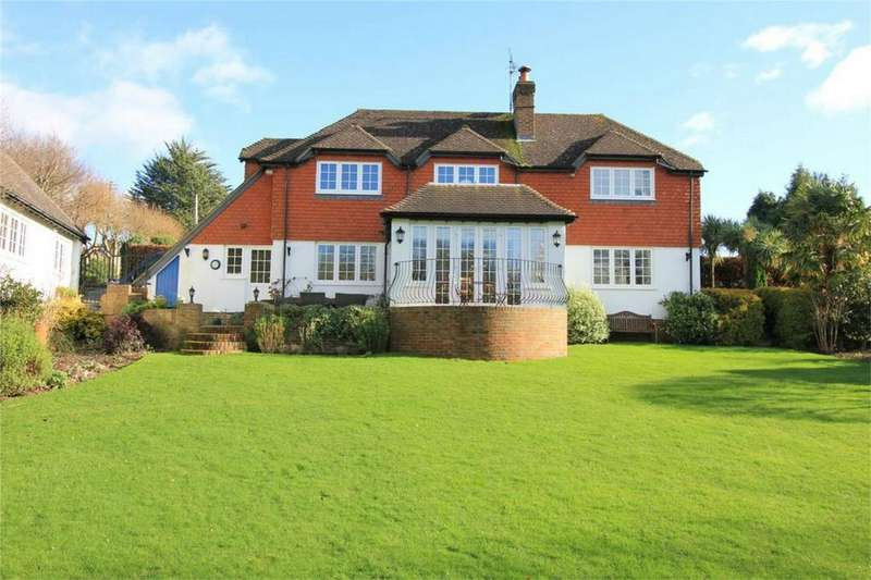 5 Bedrooms Detached House for sale in Saxonwood Road, BATTLE, East Sussex