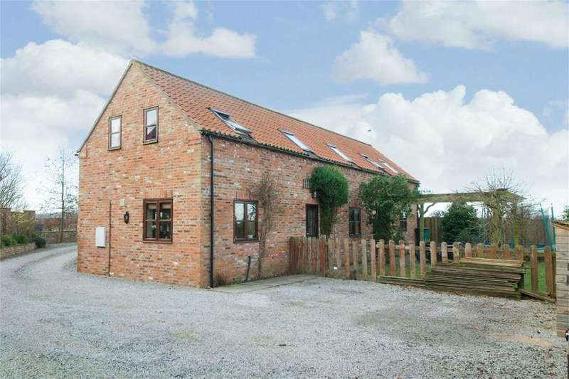 5 Bedrooms Barn Conversion Character Property for sale in Ladies Parlour Farm, Skiff Lane, Holme On Spalding Moor