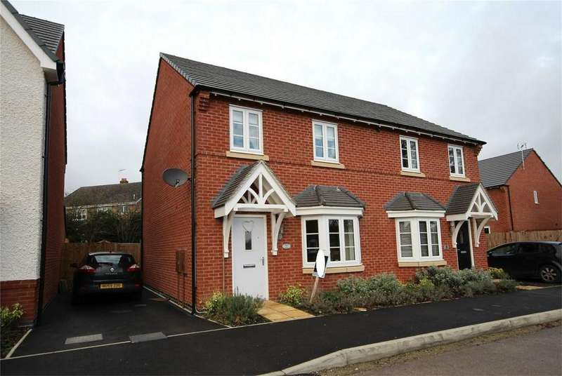 3 Bedrooms Semi Detached House for sale in Saxon Close, Ashbourne, Derbyshire