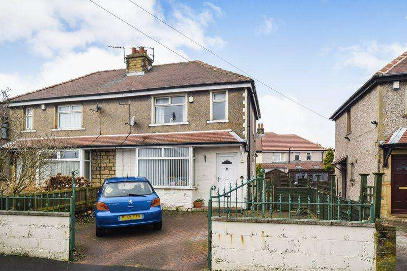 3 Bedrooms Semi Detached House for sale in Claremont Road, Wrose, Shipley