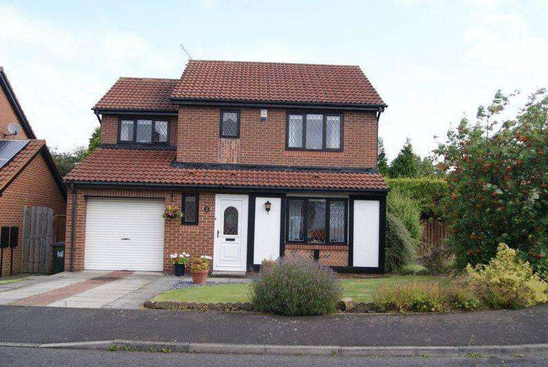 4 Bedrooms Detached House for sale in Greenhaugh, Newcastle Upon Tyne