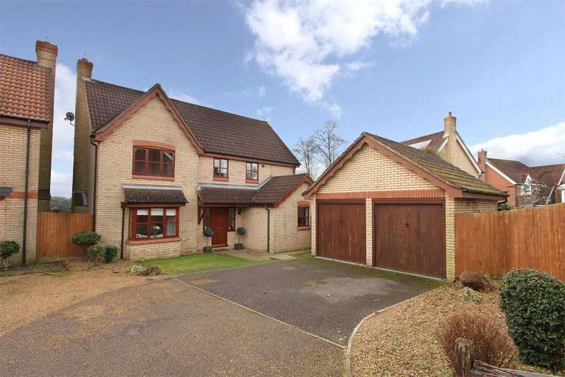 4 Bedrooms Detached House for sale in Bramble Way, Wymondham, Norfolk