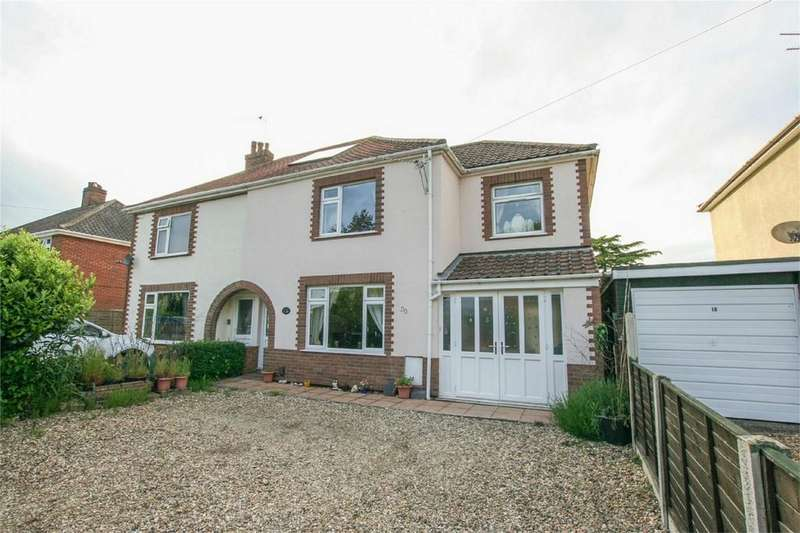 3 Bedrooms Semi Detached House for sale in Middletons Lane, Hellesdon, Norwich, Norfolk