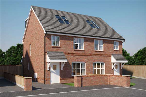 4 Bedrooms Semi Detached House for sale in Mulberry Park, Forest Road, Ellesmere Port