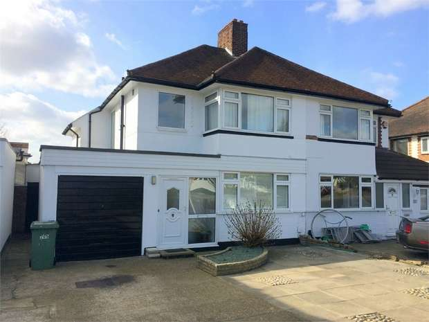 3 Bedrooms Semi Detached House for sale in Kingston Road, Ewell