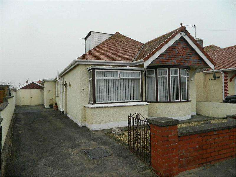 3 Bedrooms Bungalow for sale in 27 Eaton Avenue, RHYL