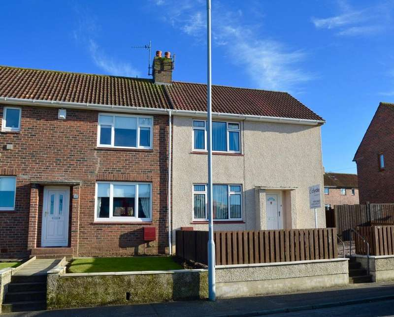 2 Bedrooms End Of Terrace House for sale in Caledonia Road, Ayr, Ayrshire, KA7 3HR