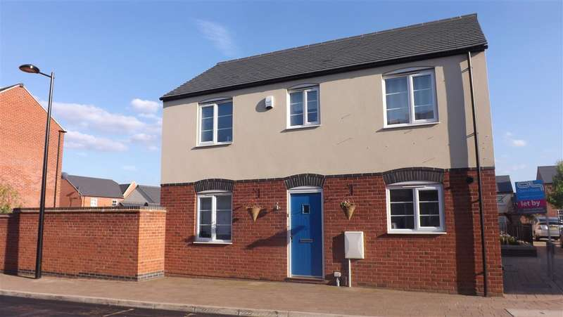 3 Bedrooms Detached House for sale in Nine Riggs Square, Leicester