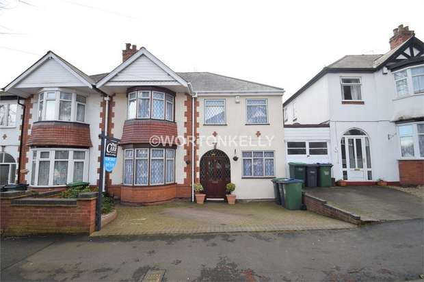 5 Bedrooms Semi Detached House for sale in Charlemont Avenue, WEST BROMWICH, West Midlands