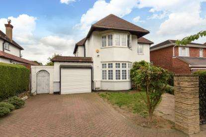 4 Bedrooms Detached House for sale in Woodcroft Avenue, London