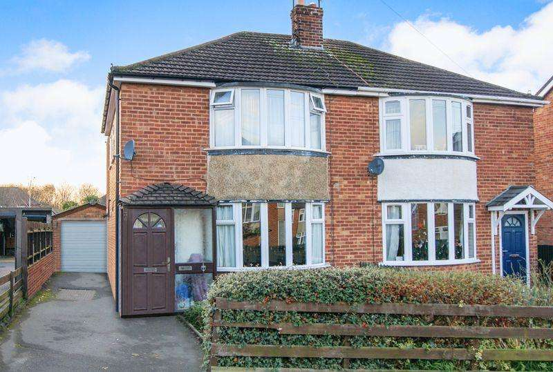 3 Bedrooms Semi Detached House for sale in Denton Avenue, Grantham