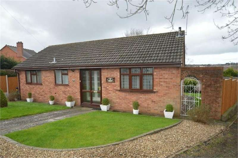 2 Bedrooms Detached Bungalow for sale in Morvale Gardens, Lye, Stourbridge, West Midlands