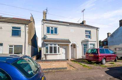 3 Bedrooms Semi Detached House for sale in Fengate, Peterborough, Cambridgeshire, United Kingdom