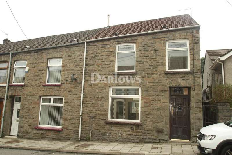 3 Bedrooms End Of Terrace House for sale in New Road, Ynysybwl