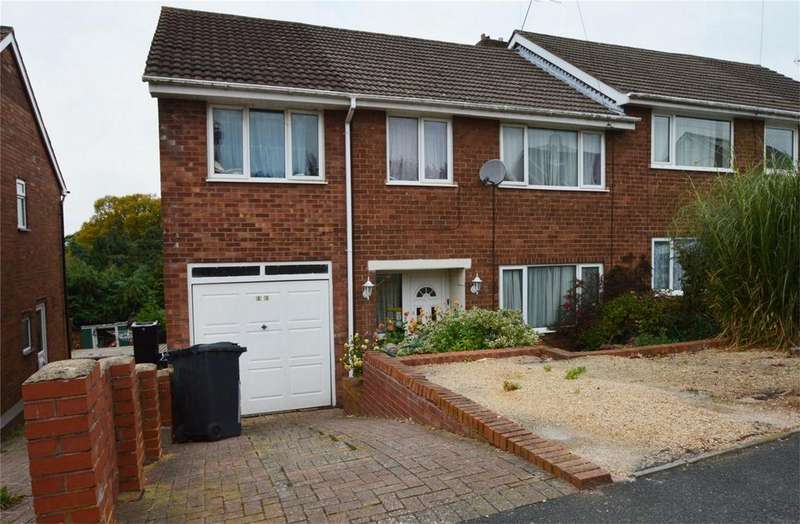 4 Bedrooms Semi Detached House for sale in Hazelwells Road, Highley, Bridgnorth, Shropshire