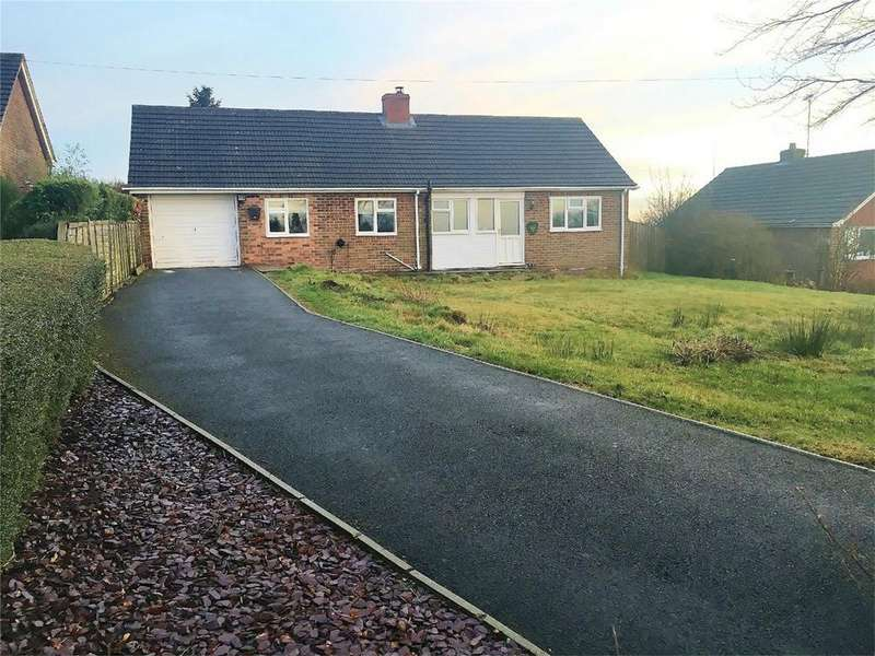 3 Bedrooms Detached Bungalow for sale in Dhustone Lane, Clee Hill, Ludlow, Shropshire