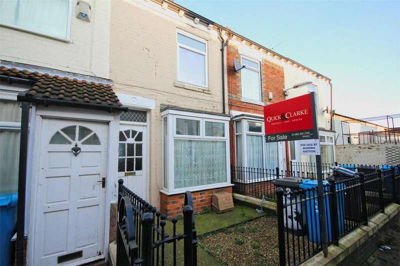 2 Bedrooms Terraced House for sale in Churchill Avenue, De La Pole Avenue, Hull, East Riding of Yorkshire